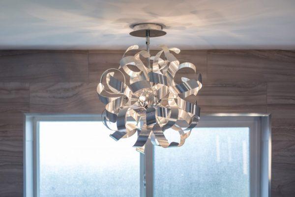 beautiful modern Intricate pattern LED option